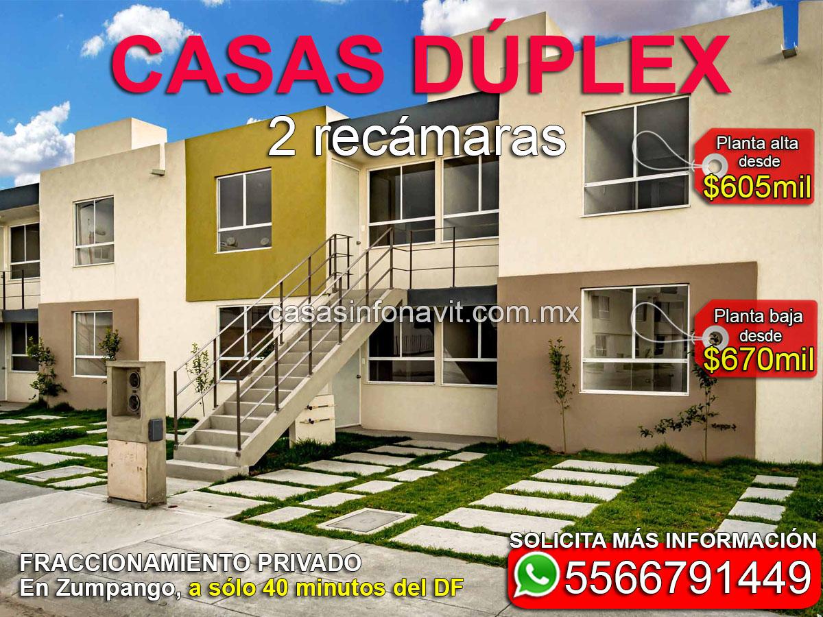 casas económicas infonavit en venta cerca del estado de méxico