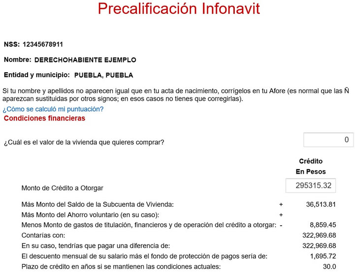 Precalificación Infonavit 2016